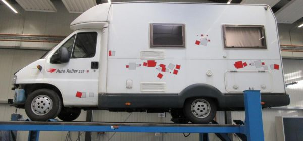 1. Fiat Ducato Anlieferung