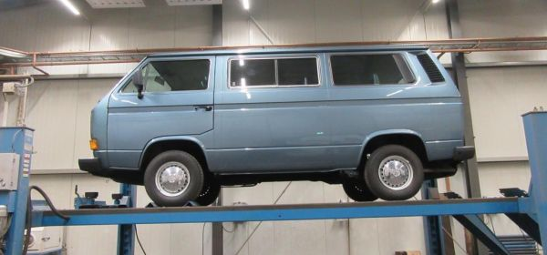 1. VW T3 Caravelle Anlieferung